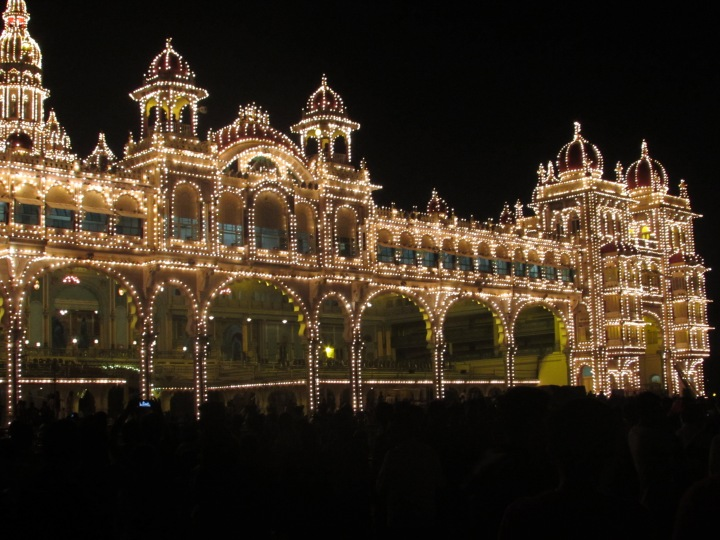 Mysore Palace - Side View